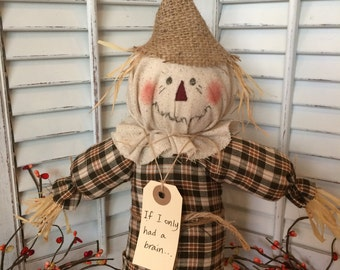 """Scarecrow-""""If I Only Had a Brain"""""""