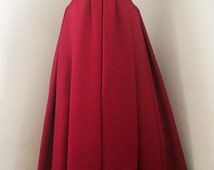 Vintage 1980s Red Victor Costa Ball Gown