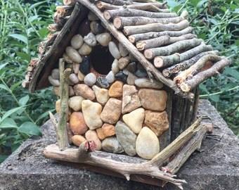 Rustic Garden Birdhouse
