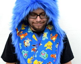 Royal Blue Rave Hat