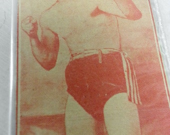 RARE CARD Harry White York's Pride Boxer Debut January 16, 1908 York PA Featherweight