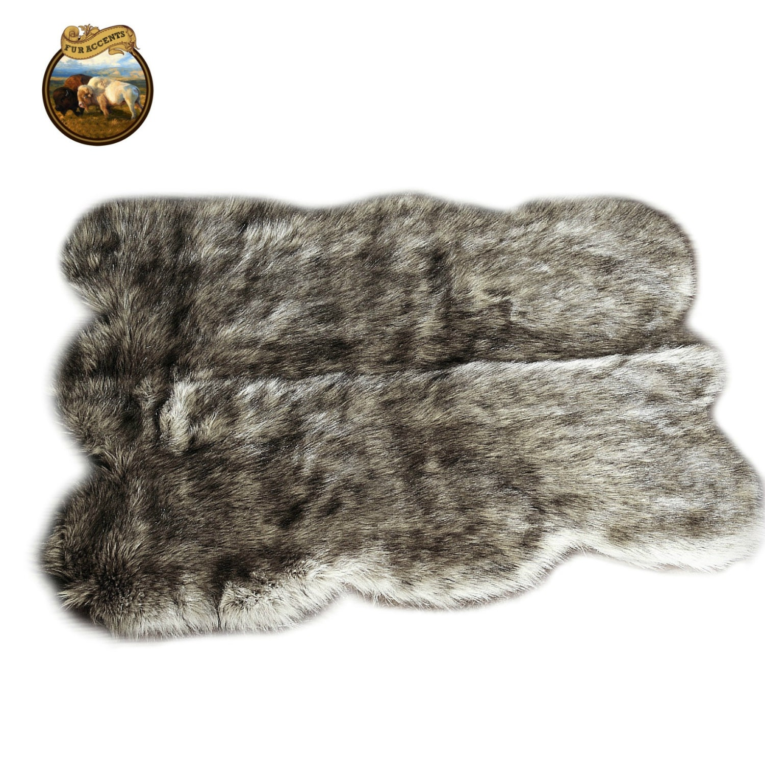 Clearance sale soft faux fur area rug shaggy shag by for Fur rugs