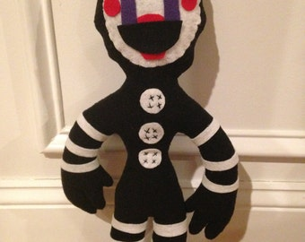 Handmade (Inspired) Five Nights at Freddy's Soft Plush Puppet Marionette FNAF Doll (Unofficial)