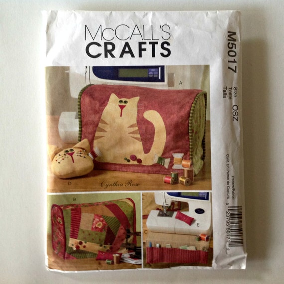 sewing machine cover pattern simplicity