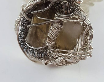 Smokey Quartz - Raw Smokey Quartz - Gemstone Jewelry - Boho Jewelry - Hippie Jewelry - Hipster Jewelry