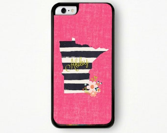 Personalized Phone Case, Tough Phone Case, Minnesota Phone Case, State Phone Case, IPhone Case, Phone Case, IPhone Case, IPhone 5 Case