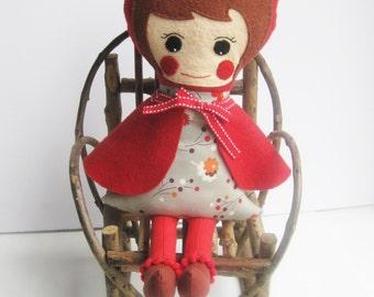 Rag Doll - Little Red Riding Hood