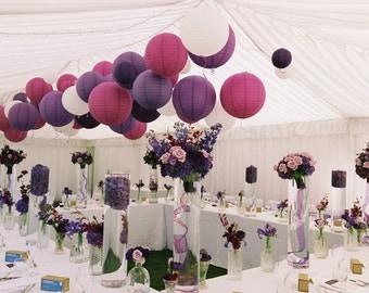 Paper Lantern, 20 pack assorted sizes - Wedding  / Event Supplies & Decor