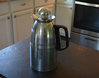 NEW LOW PRICE! Kromex Aluminum Insulated Coffee Pitcher Decanter.