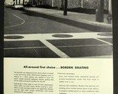 Willowbrook Shopping Center in Wayne NJ Architecture 1969 Borden Metal Print Ad