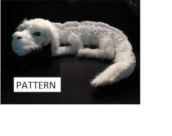 PDF PATTERN for Falkor plush