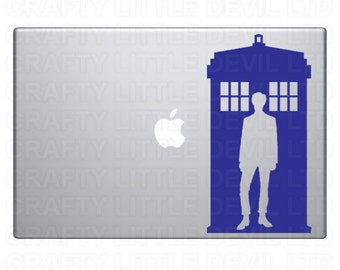 Doctor & Tardis Decal (Matt Smith)