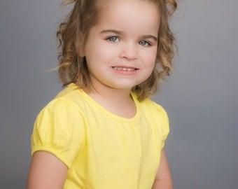 Solid Yellow Hair Bows, Yellow Bows, Yellow Bow Hair Clips, Yellow Clips, Yellow Bow Clips, Yellow Toddler Hair Clips, Yellow Bows for Girls