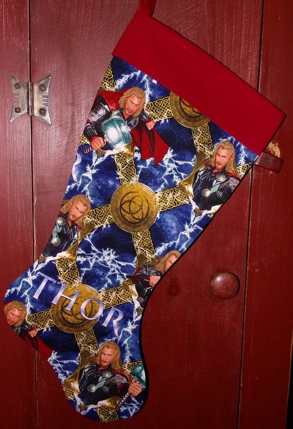Thor Christmas Stocking