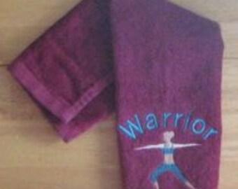 Custom Design Yoga Towel Premium Terry Yoga Towel Personalized Yoga Towel Workout Towel