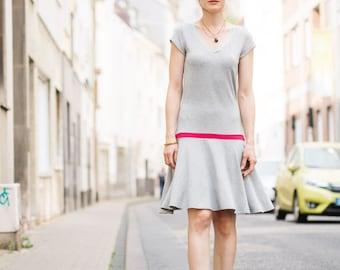 Drop waist T-shirt Dress
