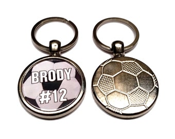 Custom Soccer Key Chain
