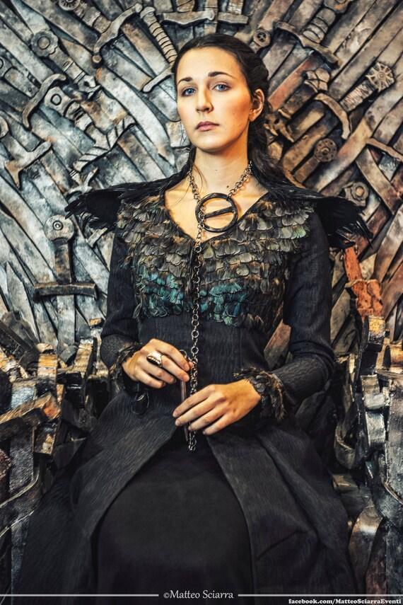 Sansa Stark Dress Game Of Thrones Costume Black Dress