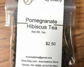 Pomegranate Hibiscus Loose Tea