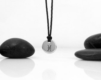zodiac necklace, zodiac sign necklace, zodiac pendant, pisces necklace, constellation, astrology jewelry, zodiac sign, birthday gift