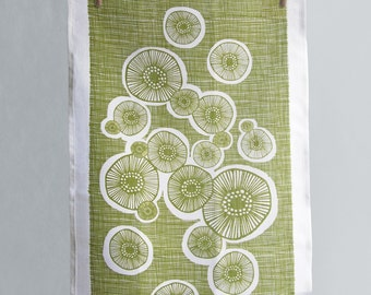 Linen Tea Towel - Lichen