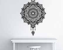 Unique mandala wall art related items Etsy