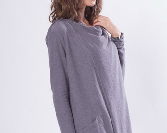 Long Cardigan / Women Cardigan / Sweater Cardigan / Black Sweater / Christmas Gift Ideas