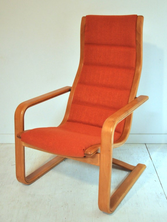 Mid Century Swedese Lounge Chair by Yngve by BranchesFurniture