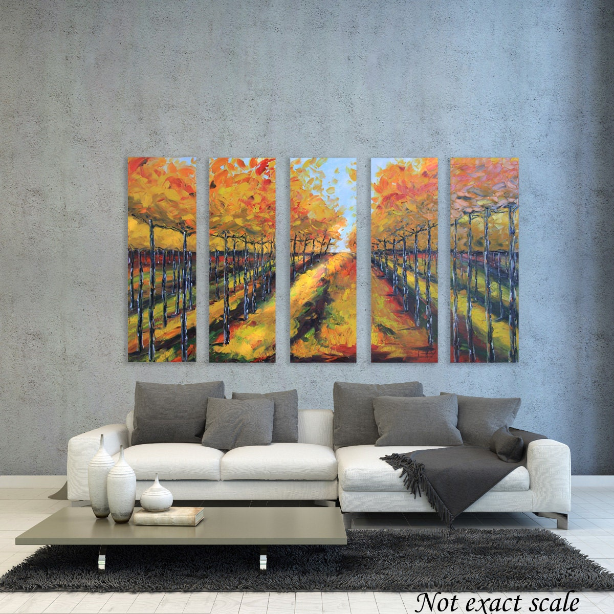 Texture Paint In Living Room Textured Painting Etsy