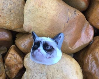 Grumpy Cat Meme Pin