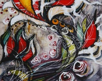 Battle Cry 2, Limited edition fine art print