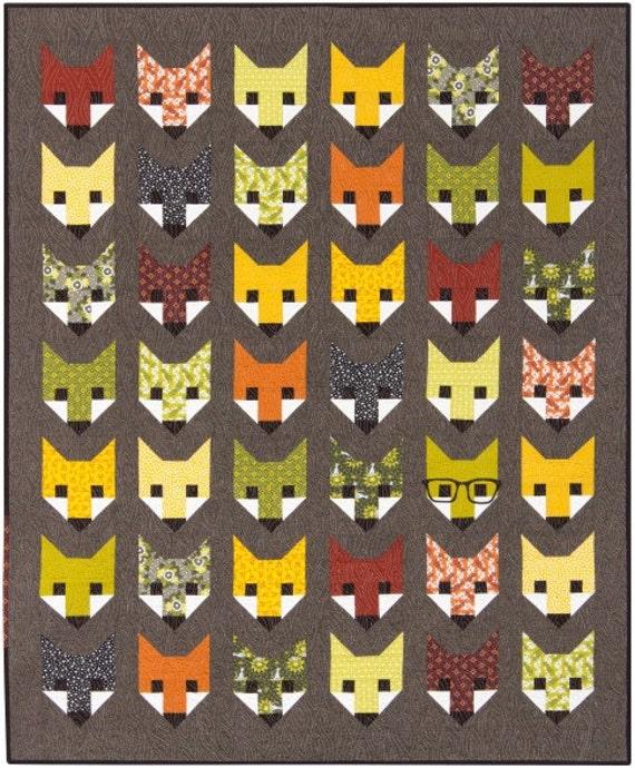 fancy fox quilt pattern elizabeth hartman oh by phatquarters