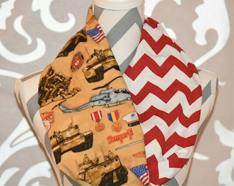 Marine Scarf Marines Proud Infinity Scarf Marine Wife Donation to Wounded Warrior Project with Each Scarf Semper Fi