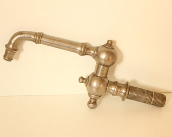 Vintage Water Faucet (Chrome Plated Brass)