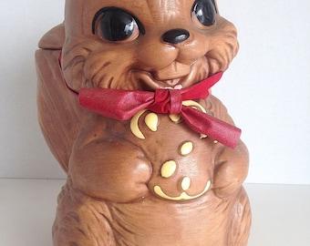 Winton Squirrel Cookie Jar