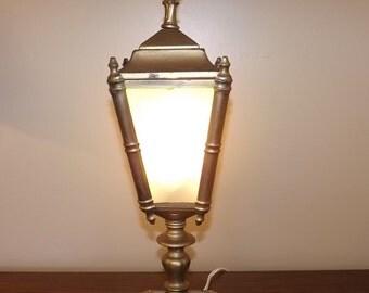 Vintage Metal Lantern style lamp
