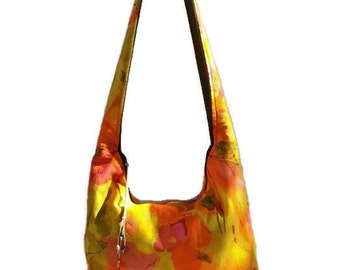 bohemian bag, boho bag, vegan hobo bag, crossbody  bag, gypsy bag, festival purse, cross body bag, slouch bag, boho slouchy bag