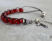Breath of the Spirit Catholic Christian Prayer Bracelet Movable Good Deed Beads