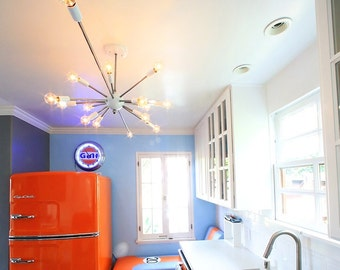 Custom made Sputnik light to your specifications.