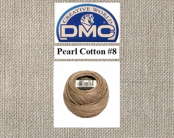 DMC Pearl Cotton 8 - Ball - Color 841 - Light Beige Brown - 87 Yards