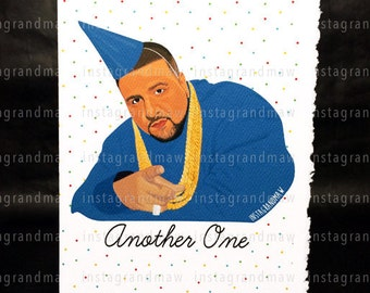 DJ Khaled Birthday Card