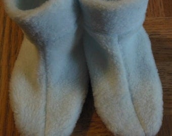 Baby Fleece Slippers with Gripper Soles