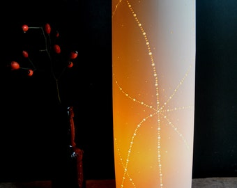 Starfish Porcelain Lamp