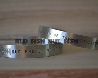 Old Enough to be Your Messiah Cuff Bracelet