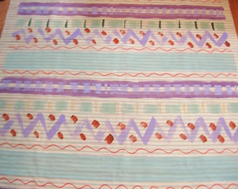 5 Yards of Peter Fasano Hand Painted Designer Fabric - 52 Inches Wide
