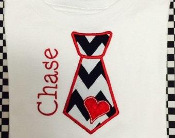 Valentine Tie Shirt