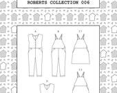 PDF Roberts collection sewing/dress making pattern