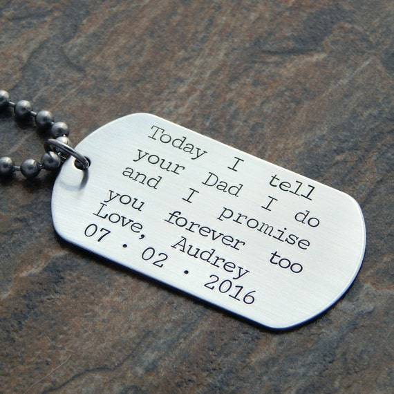 Gift For Stepson On Wedding Day : Personalized Step Son Wedding Gift - Grooms Son - Wedding Day Gift ...