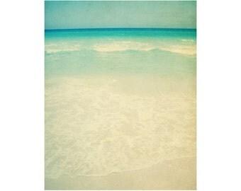 Peaceful Photography, Large Beach Art, Beach Photography, Ocean Photography, Florida Wall Art, Meditation Art, Beach Memories, Beach Print