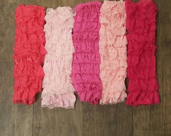 Lace Legwarmers-Add Legwarmers to your Romper Order-Beautiful Lace Legwarmers-toddler lace legwarmers-lace leggings